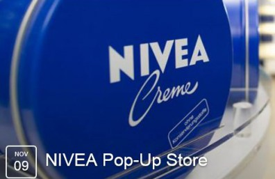NIVEA Pop Up Store Bild