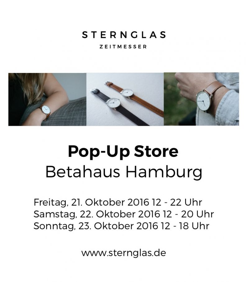 es wird zeit sternglas zeitmesser pop up store pop up radar. Black Bedroom Furniture Sets. Home Design Ideas
